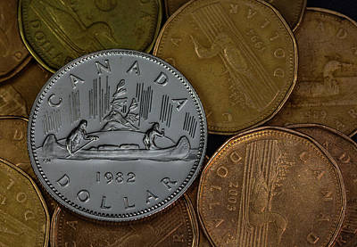 Loonie Photograph - Before The Loonie by Rodger Evans