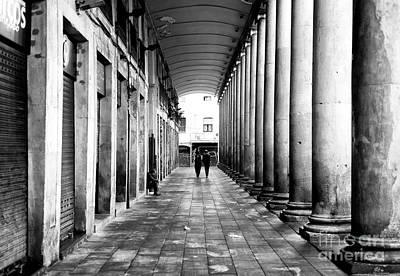 Photograph - Before The Mercat De La Boqueria Opens Barcelona by John Rizzuto