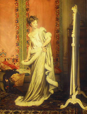 Dressing Room Painting - Before The Mirror by Pierre Glaize