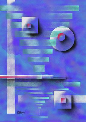 Painting - Before The Purple Dawn by Hakon Soreide