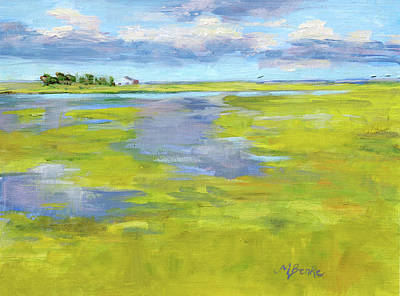 Painting - Before The Rain by Mary Benke
