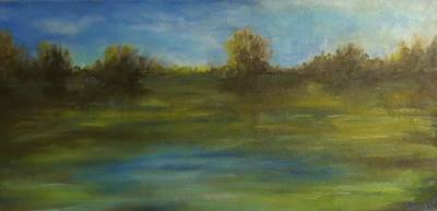 Painting - Before The Rain by Sandra Reeves