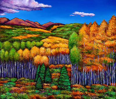 Expressionistic Painting - Before The Snowfall by Johnathan Harris