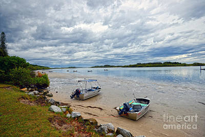 Photograph - Before The Storm - Clarence River by Sandro Rossi