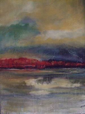 Mixed Media - Before The Storm by Janet Visser
