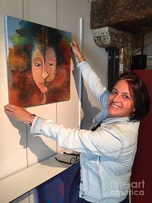 Painting - Before Vernissage 1 by Art Ina Pavelescu