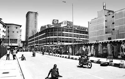 Photograph - Pz, Broad Street by Muyiwa OSIFUYE