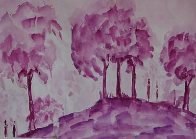Begining Of Ending Art Print by Rima