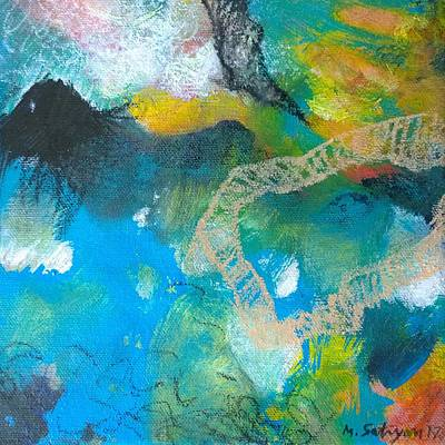 Painting - Beginning by Mira Satryan