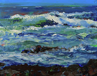 Painting - Beginning Of A Storm by Walter Fahmy