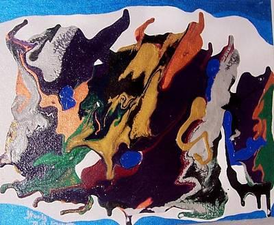 Painting - Beginnings by Ruth  El