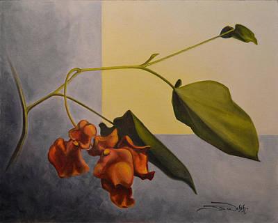 Begonia Garden Painting - Begonia by Jeremiah Welsh