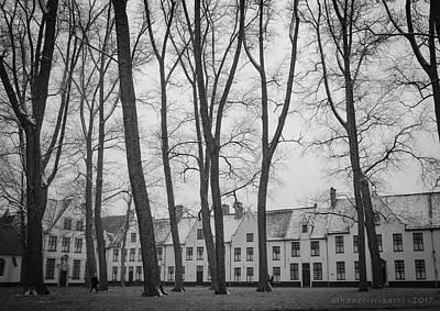 Photograph - Beguine Convent Brugge by Henri Irizarri