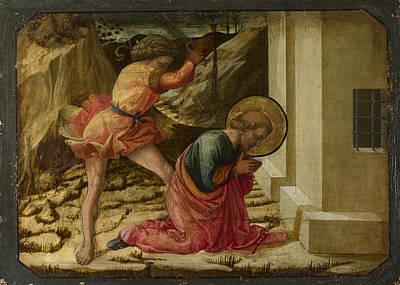 Digital Art - Beheading Of Saint James The Great   Predella Panel by Fra Filippo Lippi and workshop