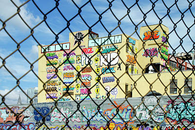 Photograph - Behind A Fence by Cate Franklyn
