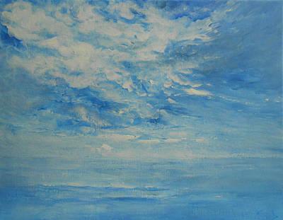 Behind All Clouds Art Print