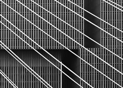 Rotterdam Photograph - Behind Bars. by Greetje Van Son