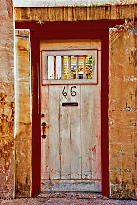 Photograph - Behind Door Number 65 by Gina O'Brien