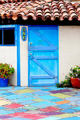 San Diego Artist Photograph - Behind Door Number One by Art Block Collections