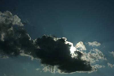 Behind Every Dark Cloud Art Print by Gregory Jeffries