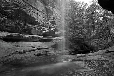 Starved Rock Wall Art - Photograph - Behind by Jason Wolters