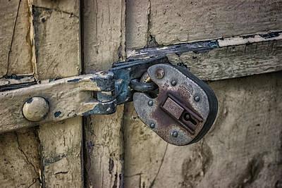 Behind Locked Doors Art Print by Martin Newman