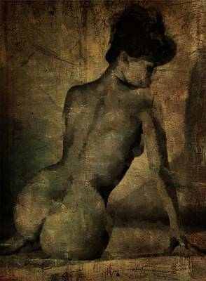 Nudes Royalty-Free and Rights-Managed Images - Behind by Mary Bassett
