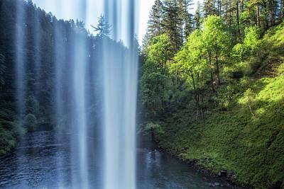 Photograph - Behind South Falls by Belinda Greb