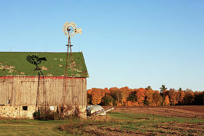 Behind The Barn Art Print by Todd Klassy