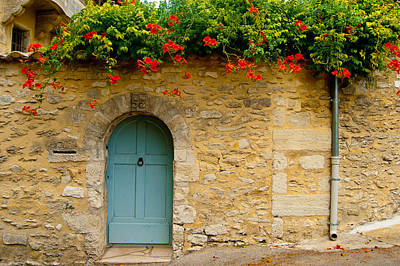 Photograph - Behind The Blue Door by Jani Freimann