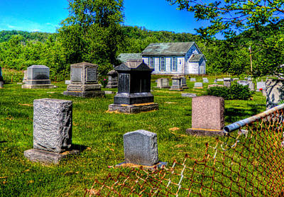 Photograph - Behind The Church by Jonny D