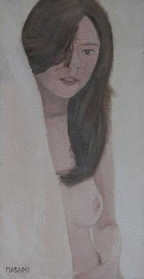 Painting - Behind The Curtain by Masami Iida