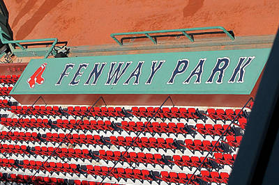 Redsox Photograph - Behind The Dugout by Bart Blumberg
