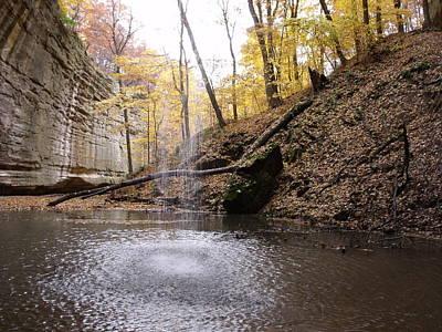 Photograph - Behind The Falls by Anna Villarreal Garbis