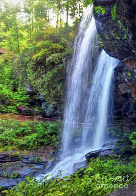Photograph - Behind The Falls by Savannah Gibbs