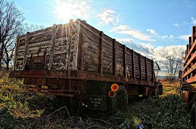 Photograph - Behind The Grain Truck by Bonfire Photography