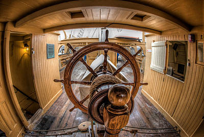 Photograph - Behind The Helm by Fred LeBlanc