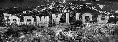 Photograph - Behind The Hollywood Sign - Doc Braham - All Rights Reserved. by Doc Braham
