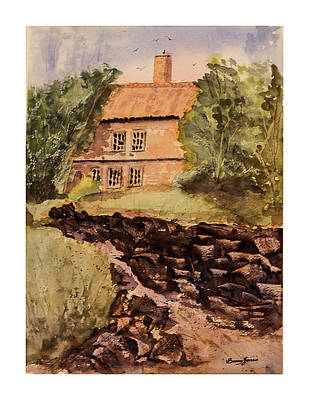 Painting - Behind The House by Barry Jones
