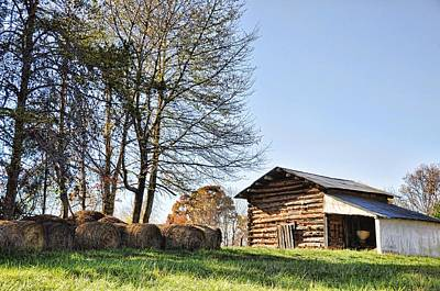 Photograph - Behind The Old Barn by Jan Amiss Photography
