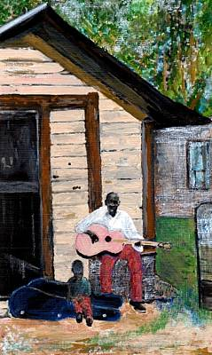 Painting - Behind The Old House by Joe Dagher