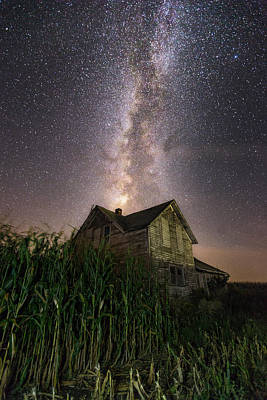 Photograph - Behind The Rows by Aaron J Groen