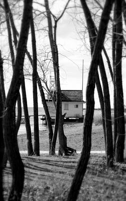 Photograph - Behind The Trees by Valentino Visentini