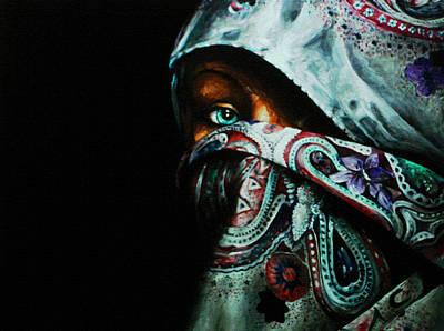 Behind The Veil Art Print by Richard Klingbeil