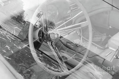 Photograph - Behind The Wheel by John S