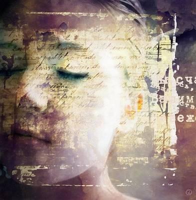Digital Art - Behind The Words by Gun Legler