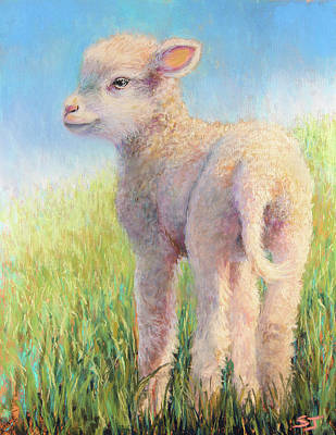 Behold The Lamb Art Print