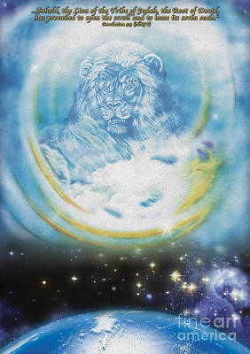 Behold The Lion Of Judah Print by Todd L Thomas