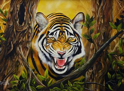 David Paul Painting - Beholding by David Paul