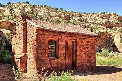 Photograph - Behunin Cabin by Donna Kennedy